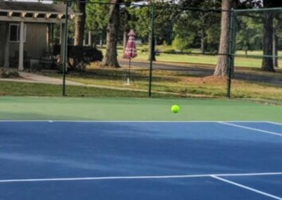 Beautiful Courts in a Beautiful Setting